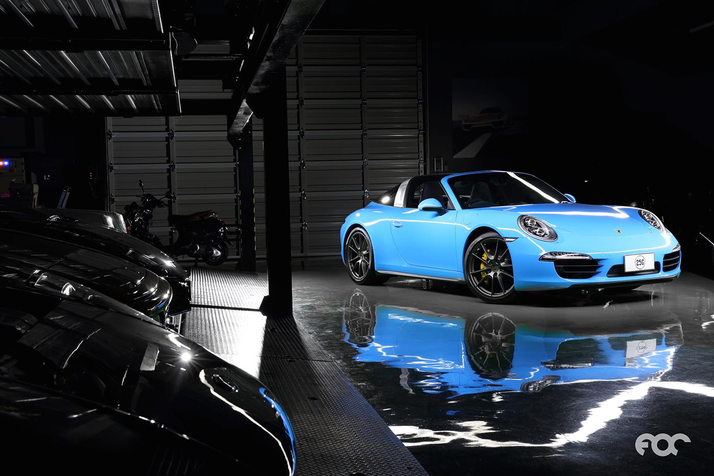 Eigenaar showt zijn unieke Porsche 991 Targa