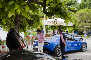 Villa d'Este 2015: Lamborghini Asterion LPI910-4