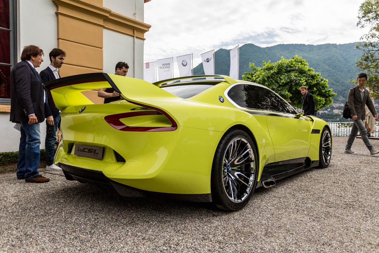 Old Porsche For Sale >> Villa d'Este 2015: BMW 3.0 CSL Hommage