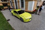 BMW 3.0 CSL Hommage odsłonięte na Villa d'Este 2015