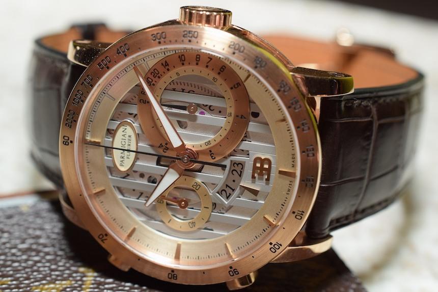Parmigiani Atalante Bugatti horloge is rijk aan historie