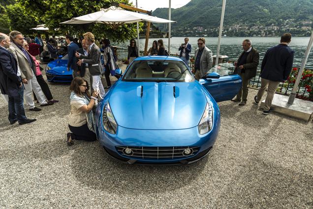Villa d'Este 2015:Touring Superleggera Touring Berlinetta Lusso