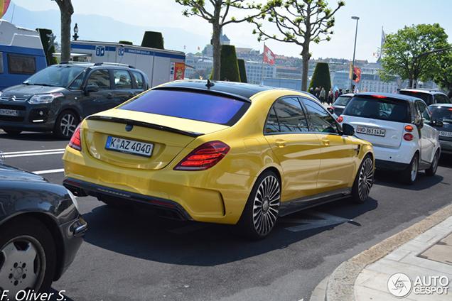 Dit gele monster heeft 1.000 pk
