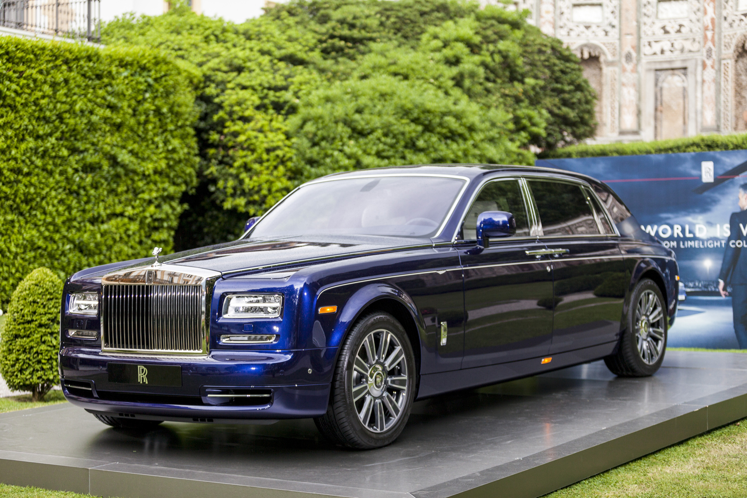 villa d 39 este 2015 rolls royce phantom limelight collection. Black Bedroom Furniture Sets. Home Design Ideas