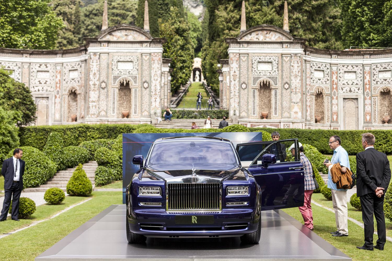 Villa D Este 2015 Rolls Royce Phantom Limelight Collection