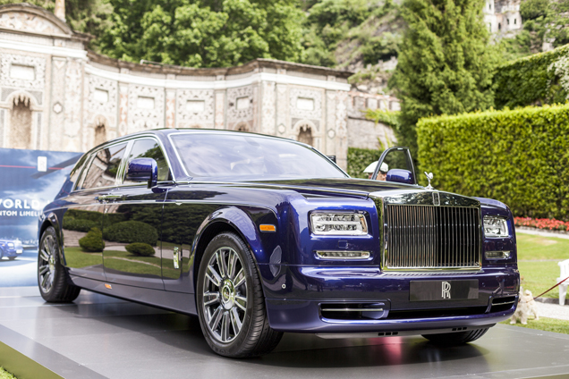 Villa d'Este 2015: Rolls-Royce Phantom Limelight Collection