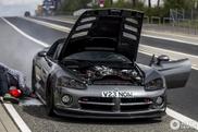 Dodge Viper gets very hot