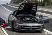 Dodge Viper gets very hot
