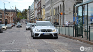Mercedes C Coupé Black Series robi wrażenie w Helsinkach