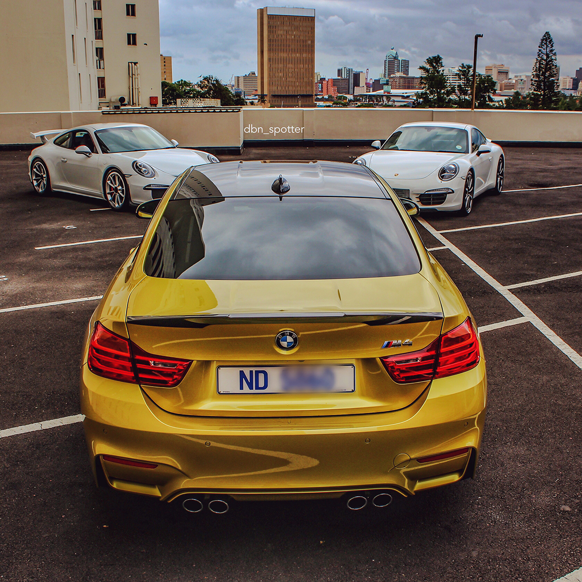 Sports Cars Are Shining In Durban
