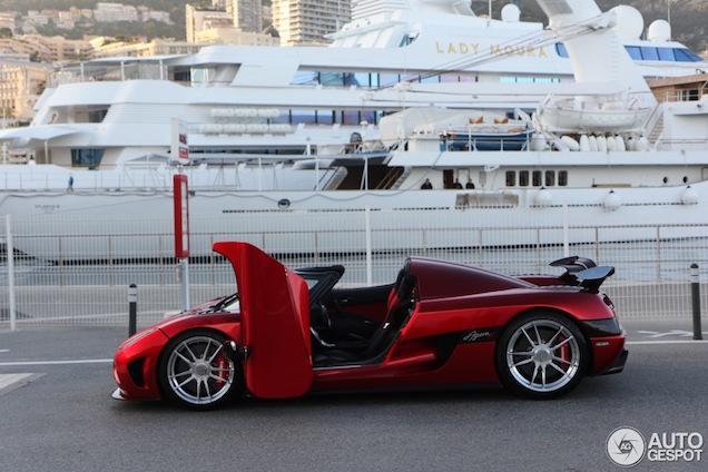 Topspot: Koenigsegg Agera R in Monaco