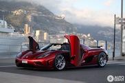 Topspot : Une magnifique Koenigsegg Agera R photographiée à Monaco
