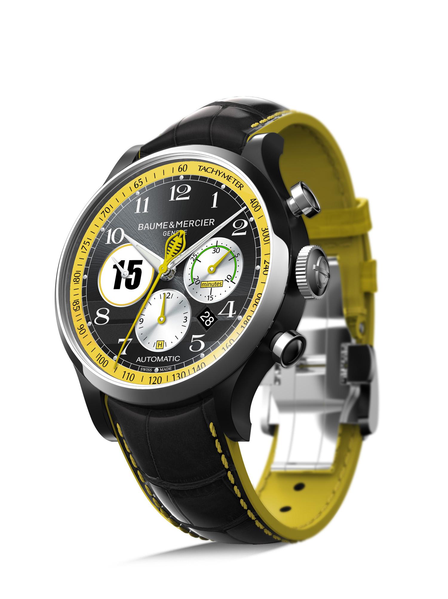 Baume & Mercier laat gelimiteerde Capeland Shelby Cobra uurwerken zien