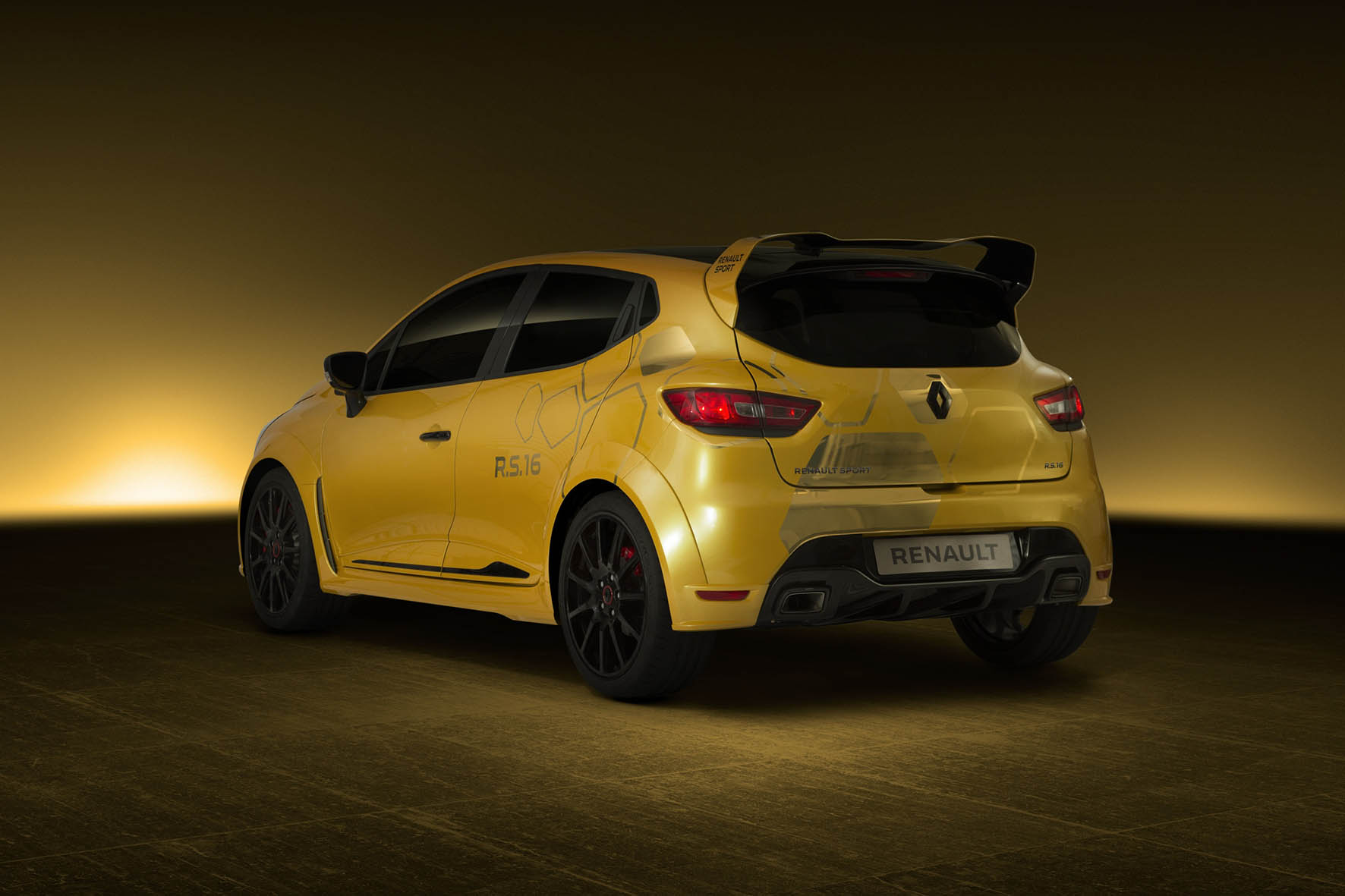 renault sport unveils concept car of the most powerful clio r s ever. Black Bedroom Furniture Sets. Home Design Ideas