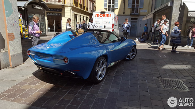Bloedmooie Alfa Romeo Disco Volante Spyder gespot