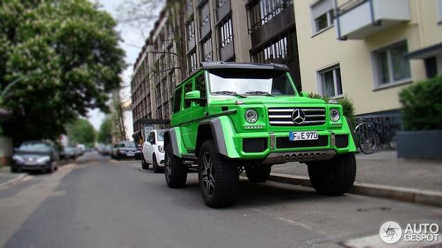 Als The Hulk een auto had...