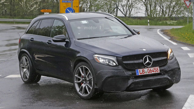 Mercedes-AMG GLC 63 maakt zich klaar voor V8 gebulder