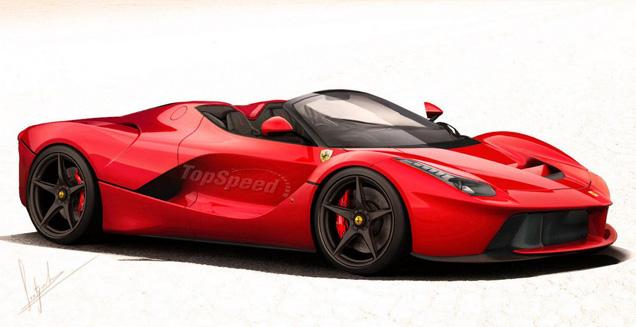 Ferrari LaFerrari Spider for sale with a stunning price tag
