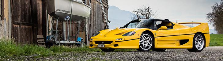 Photoshoot: Ferrari F50