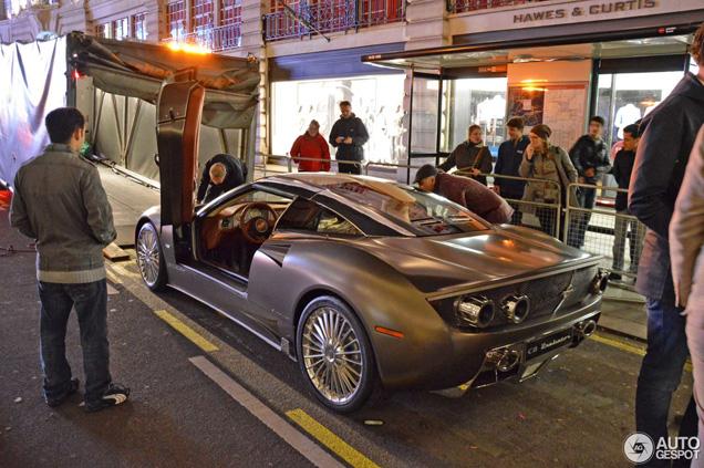 Gespot in Londen: Spyker C8 Preliator