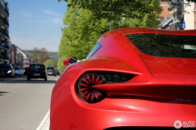 Topspot: Aston Martin Vanquish Zagato in Spa