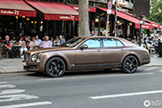 That takes courage: Brown Bentley Mulsanne