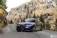 Photoshoot: Alfa Romeo Giulia Quadrifoglio