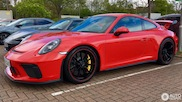 Spotted: The new Porsche 991 GT3