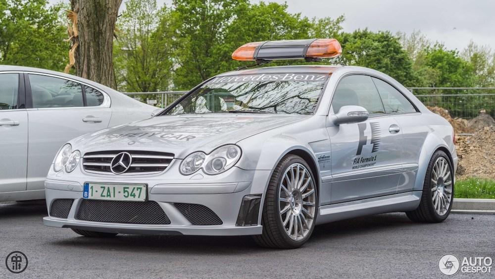 Gespot: Mercedes CLK 63 AMG Black Series Safety Car