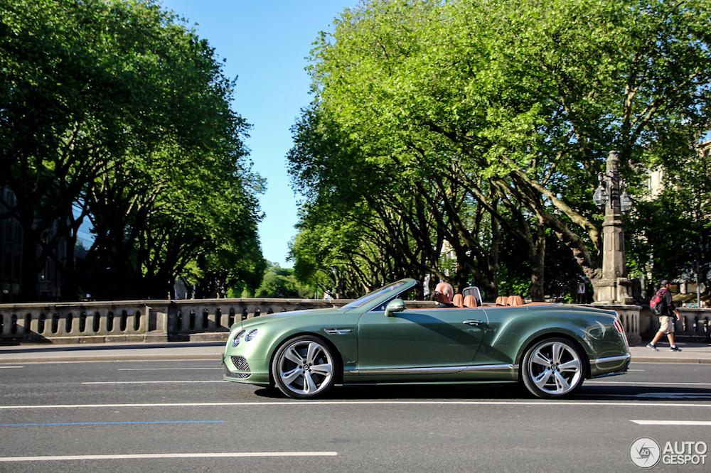 Deze Bentley Continental GTC Speed is prachtig samengesteld