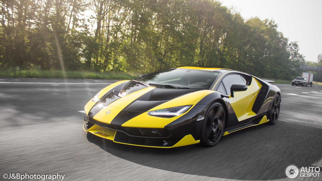 Spot van de dag: Lamborghini Centenario