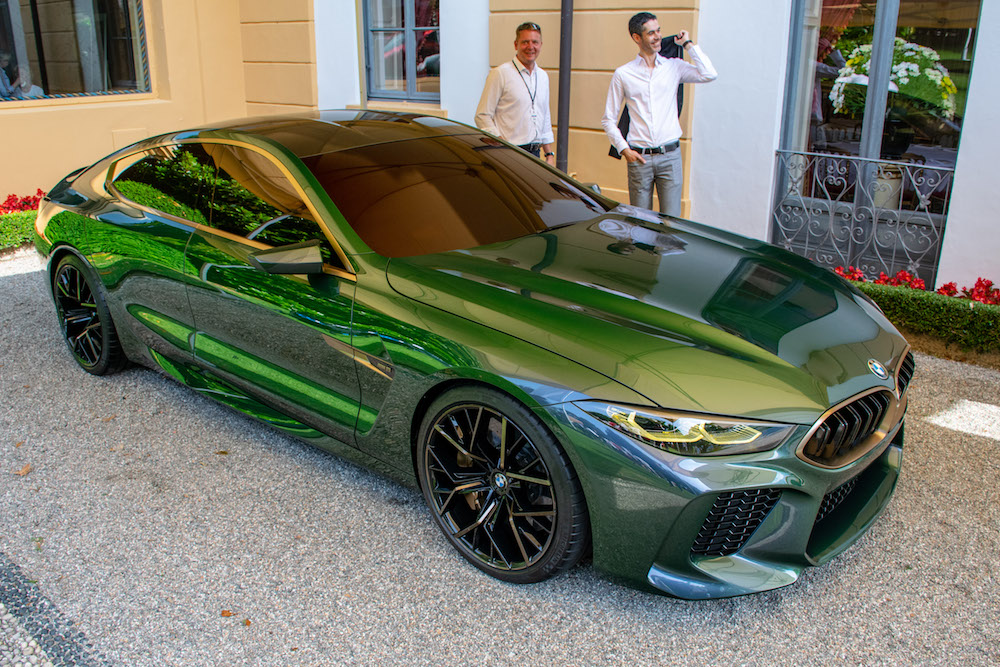 Concorso d'Eleganza Villa d'Este 2018: BMW Concept M8 Gran Coupé