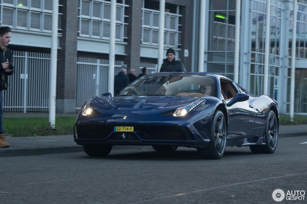 Spot van de Dag: Ferrari 458 Speciale Aperta uit Maastricht