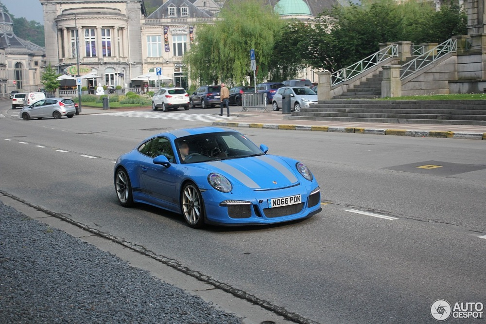 Smurf gespot in Spa