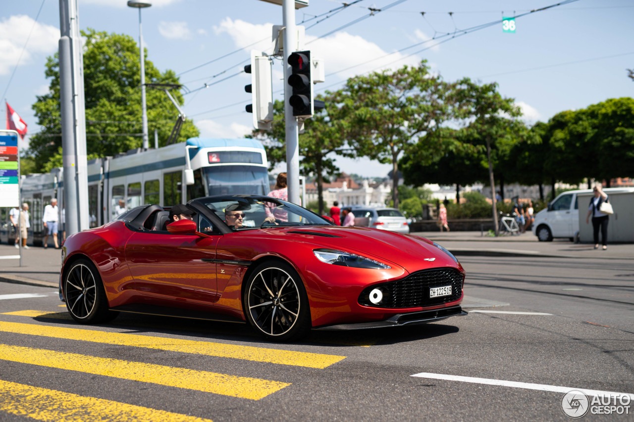 First Vanquish Zagato Speedsters starting to appear
