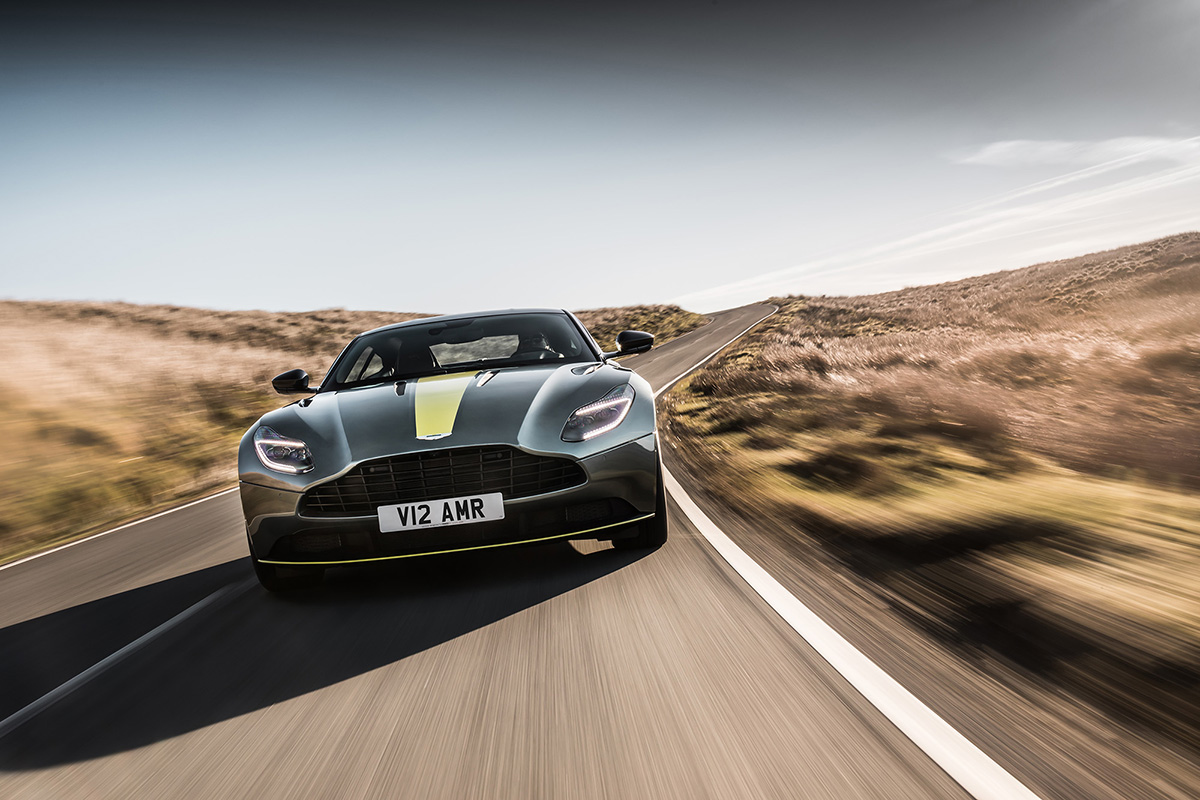 Aston Martin introduces the DB11 AMR