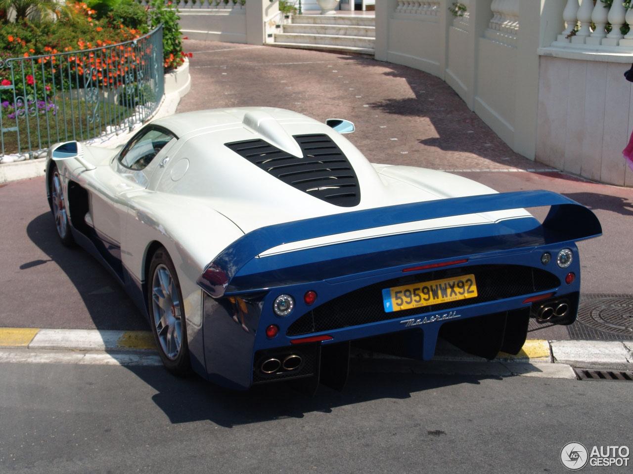 Dertien jaar geleden werd deze Maserati MC12 gespot