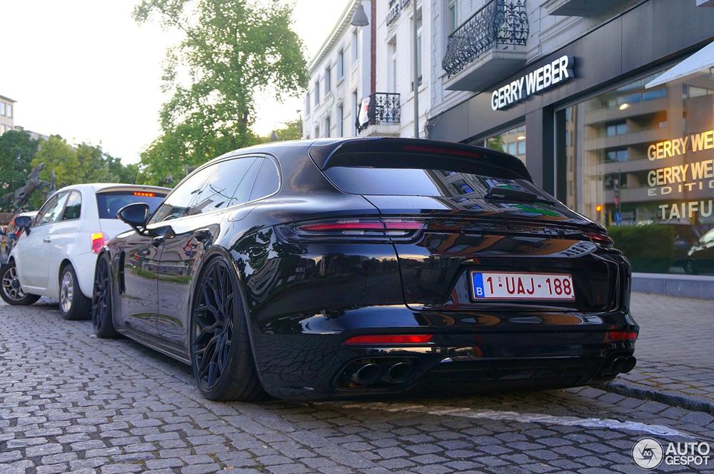 Porsche Panamera Sport Turismo is een buikschuiver