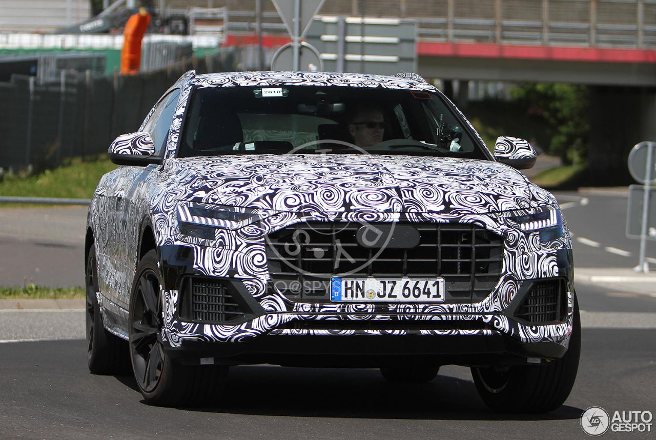 Audi SQ8 wordt nog even goed aan de tand gevoeld