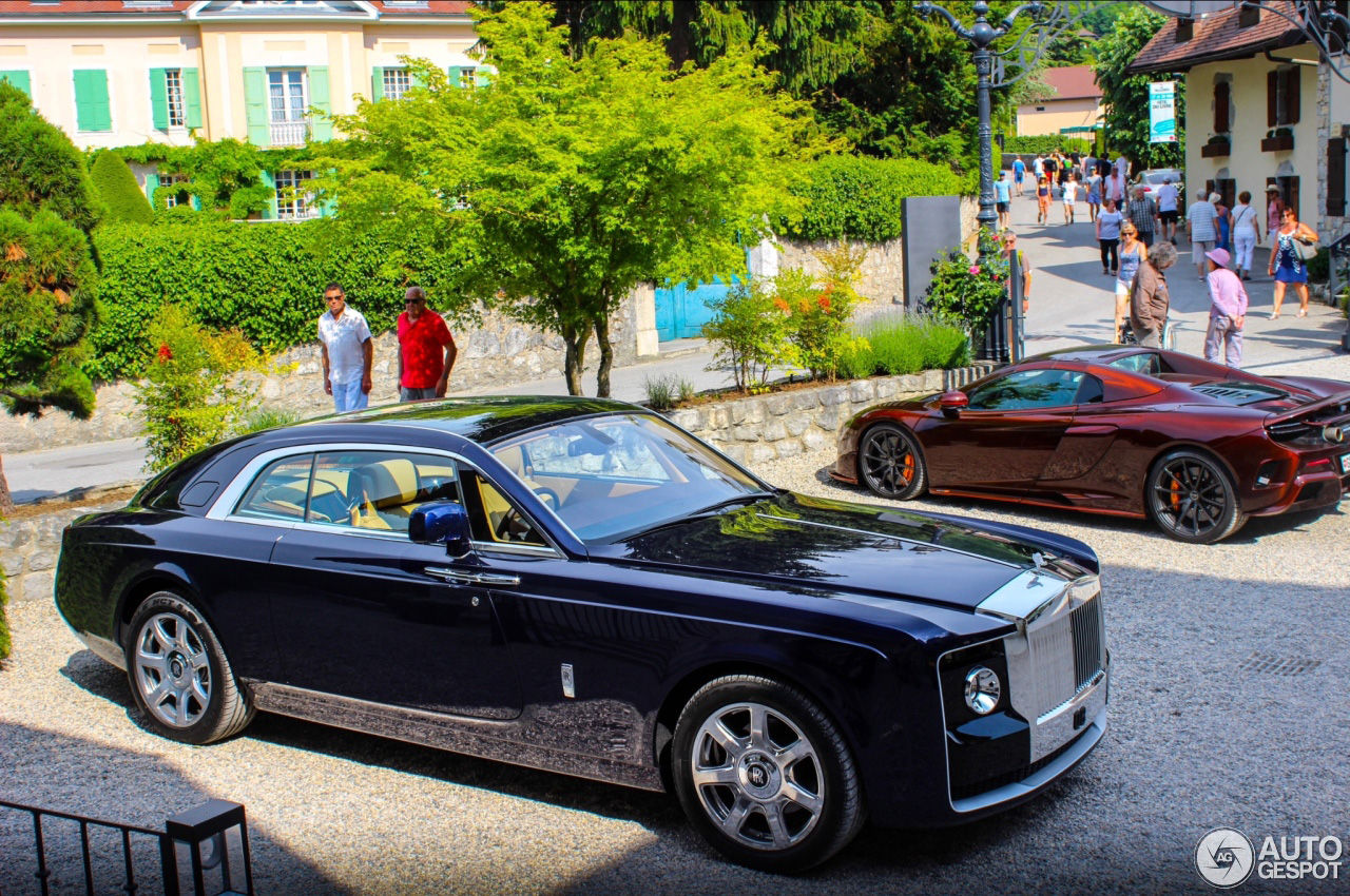 Daar is die: de Rolls-Royce Sweptail