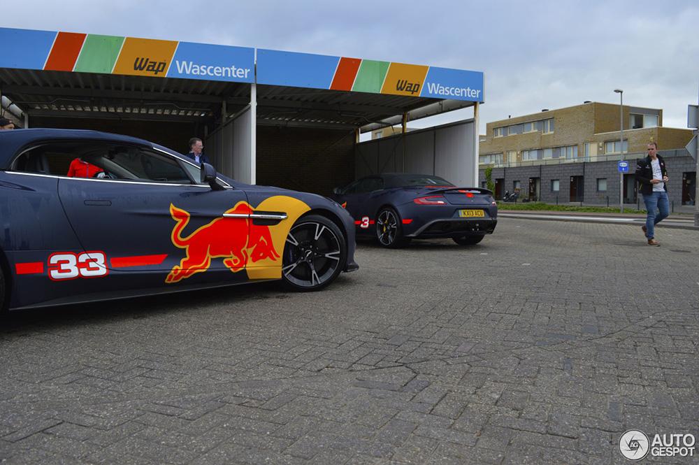 Verstappen en Ricciardo zijn klaar voor de caravanrace