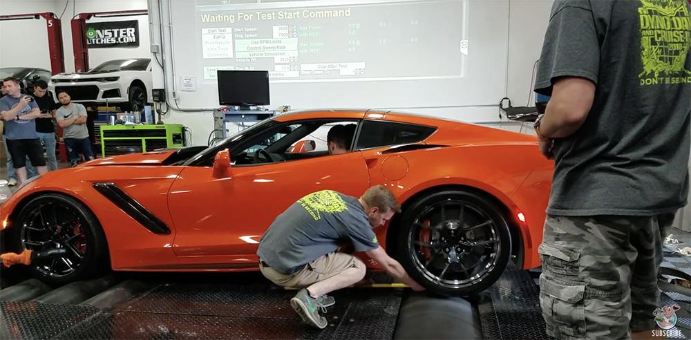 Filmpje: Corvette C7 ZR1 had slechter af kunnen lopen