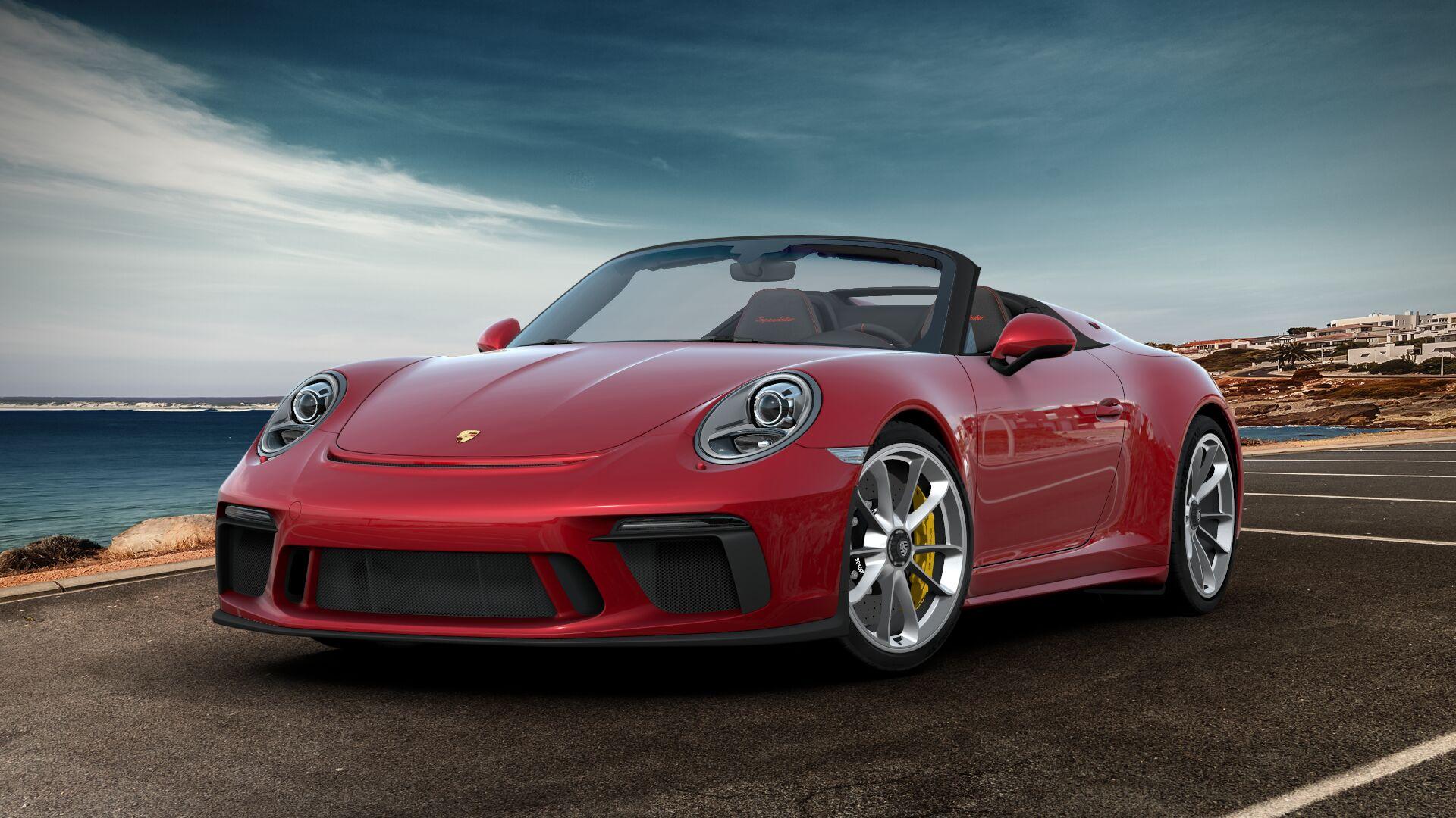 Configureren maar: de nieuwe Porsche 911 Speedster!