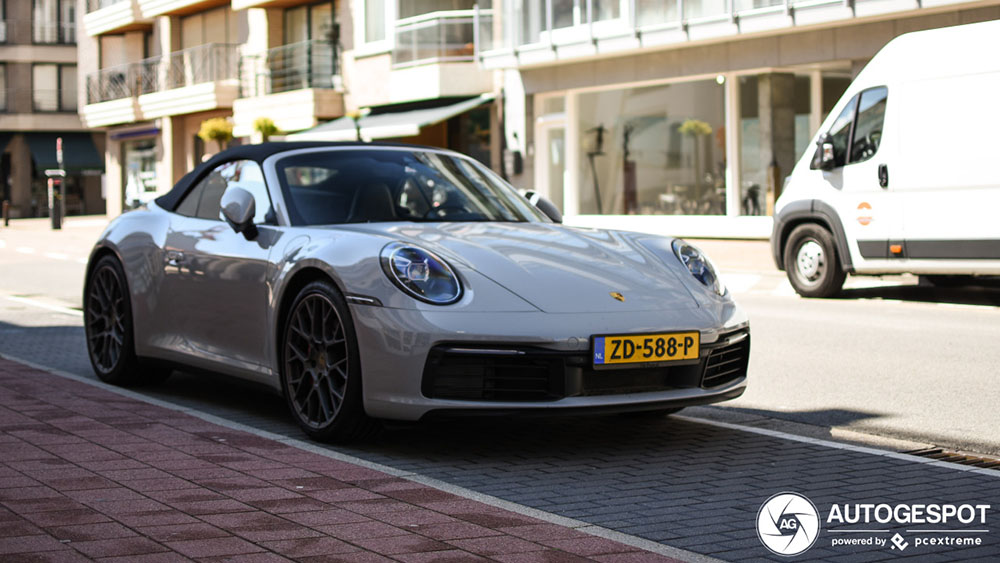 Tweede Porsche 992 Carrera 4S Cabriolet is Nederlands