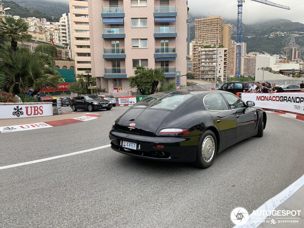 Ultra zeldzame spot: Bugatti EB112 Prototype!