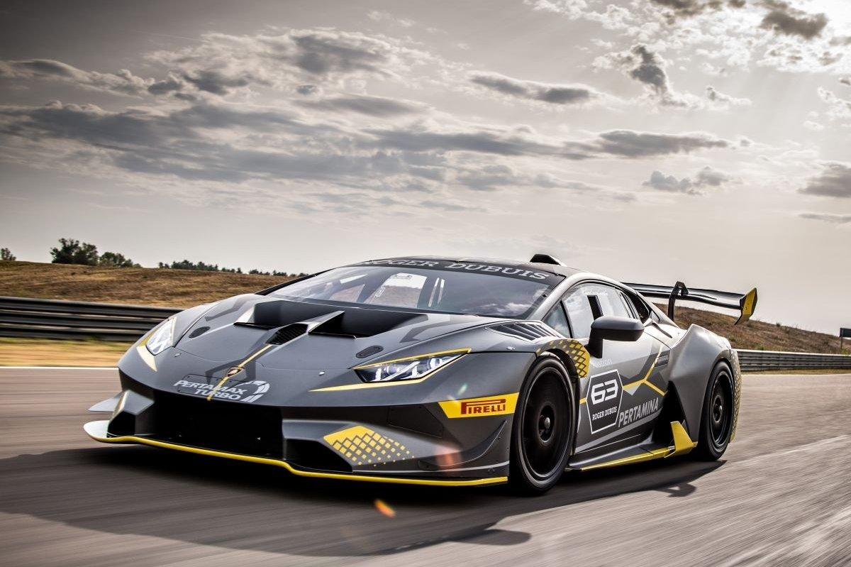 Lamborghini Huracán doet zich voor als Super Trofeo