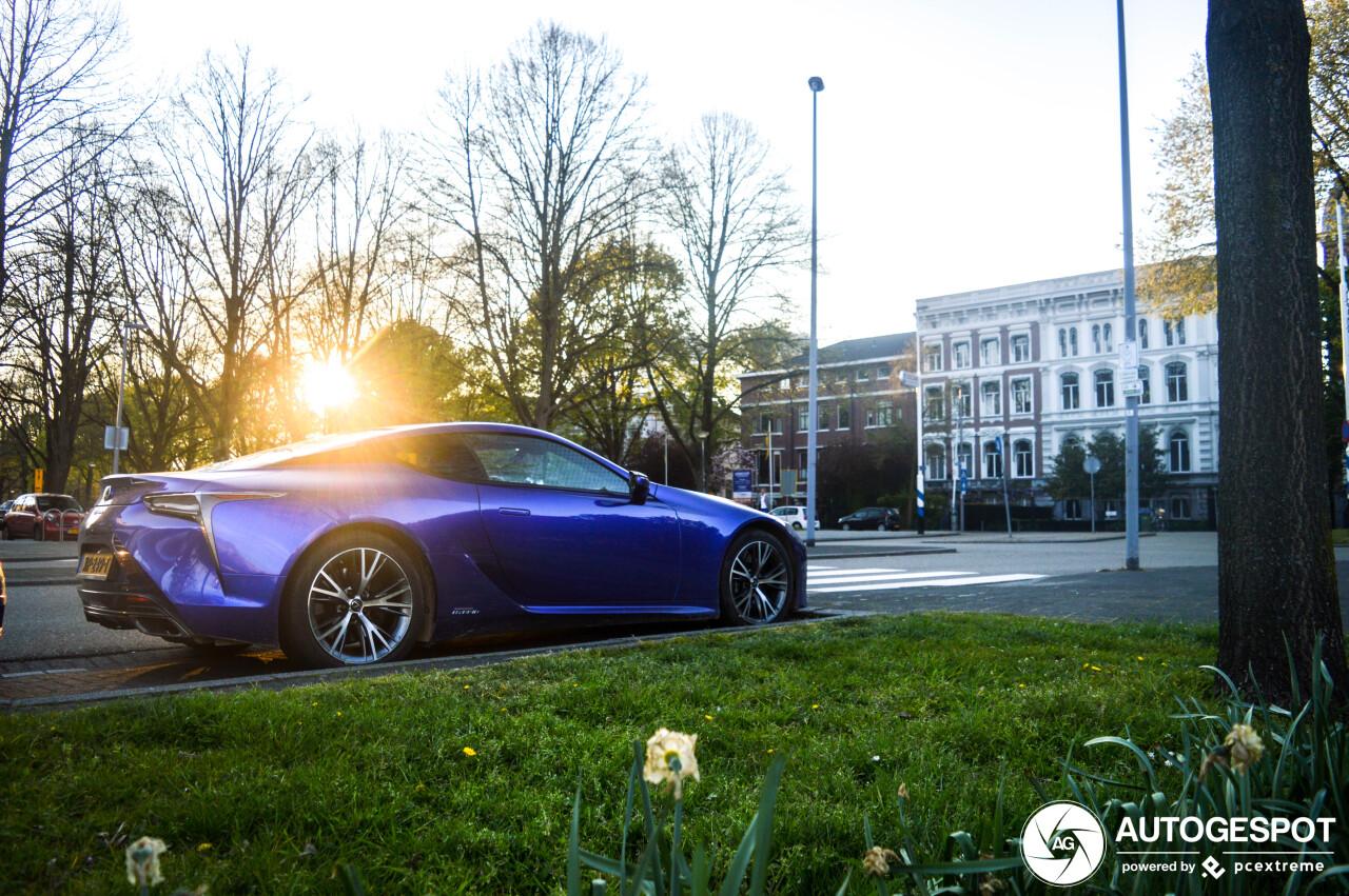 Gevalletje love it or hate it: Lexus LC500h