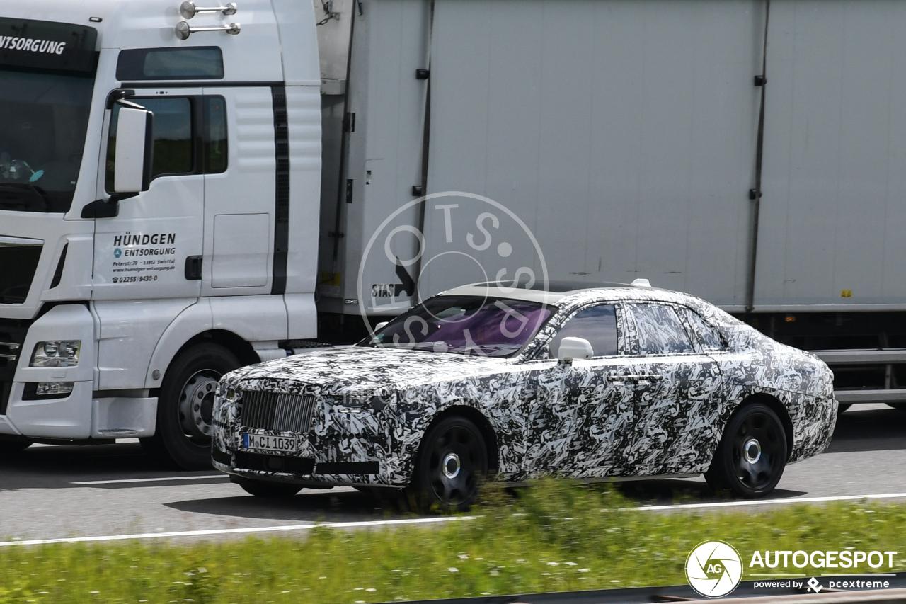 Rolls Royce werkt hard aan nieuwe Ghost