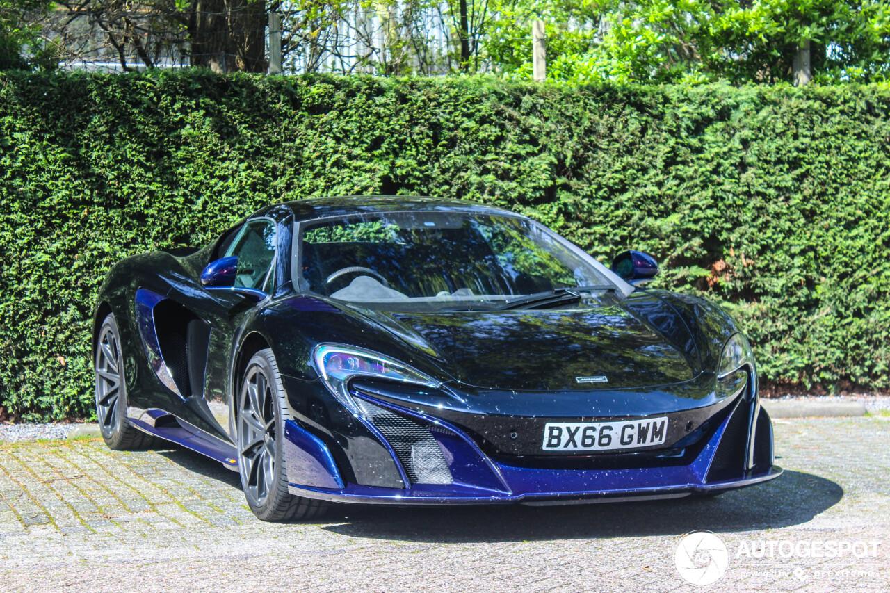 Spot van de dag: McLaren 675LT Spider