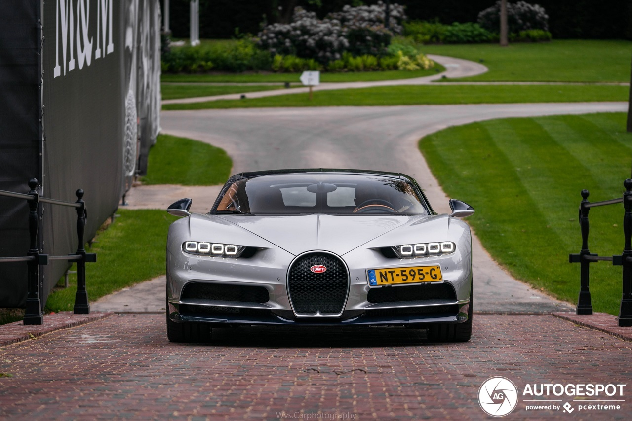 Spot van de dag: Bugatti Chiron